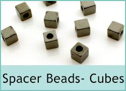 Spacer Beads - Cubes