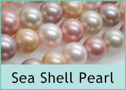 Sea Shell Pearl Beads
