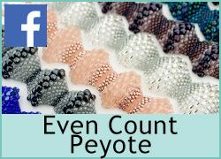 Even Count Peyote stitch - 6th April