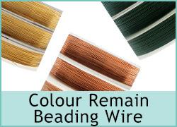 Beading Wire Colour Remain
