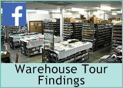 Warehouse Tour - Findings - Part 3 - 2nd October