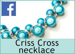 Criss Cross necklace - 13th October