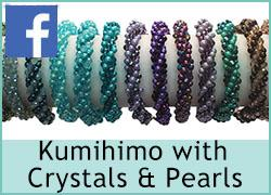 Kumihimo with Crystals/Pearls - 26th October