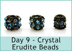 Day 9 - Crystal Erudite beads