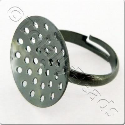 Beading Ring - Black Plated