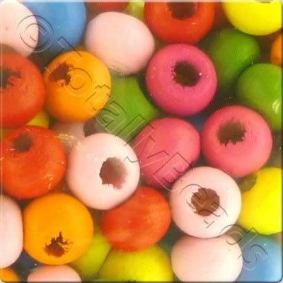 Childrens Wooden Bead - 5mm Round