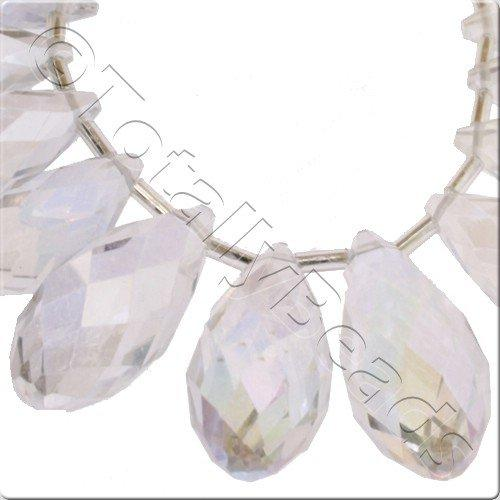 Crystal Drop Set 3 Sizes - Crystal AB
