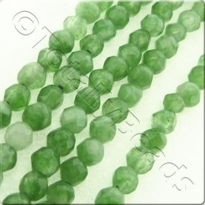 Fern Dyed Stone 3mm Faceted Round