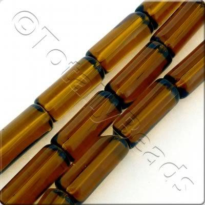 Glass Tube 15mm - Brown