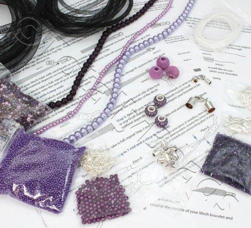 Mesh Starter Kit - Silver/Purple plus MESH