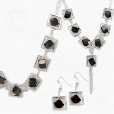 Sadie Necklace Kit - Coffee Plated