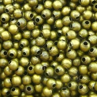 Spacer Beads - Bronze - 3mm