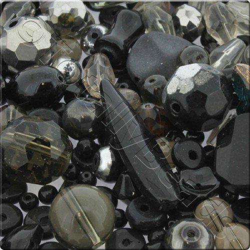 250g Glass Bead Mix - Black