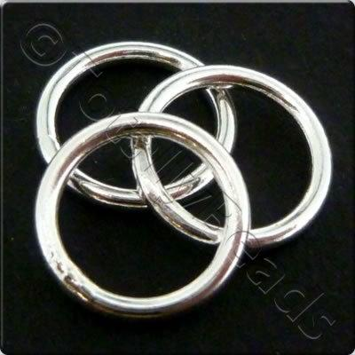 Sterling Silver - Solid Ring - 10mm