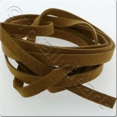 Suede Cord - 8mm - Brown