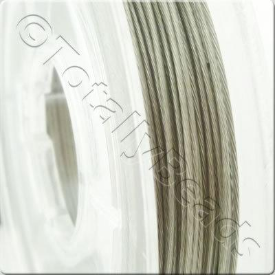 Tigertail Wire 0.45mm - Silver - 10m