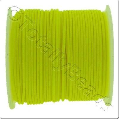 Wax Cord 1mm - Neon Yellow