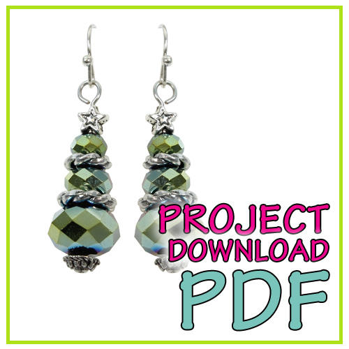 Christmas Tree Earring - Download Instructions