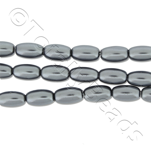 Glass Pearl Rice - Grey
