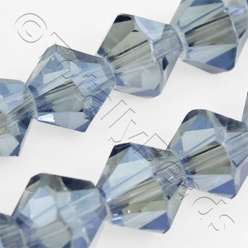 Crystal Bicone 8mm - Blue Mist