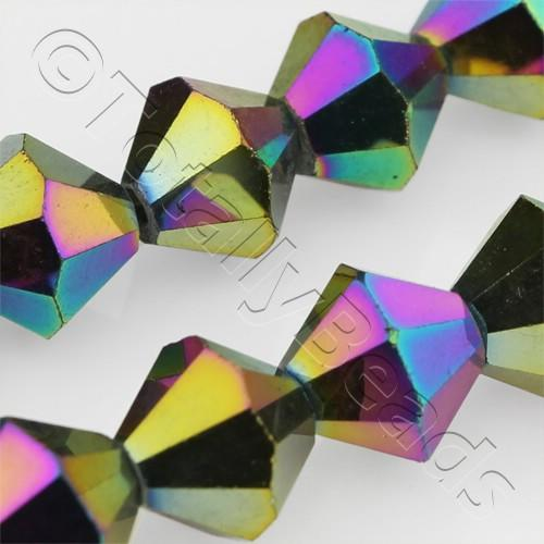 Crystal Bicone 8mm - Rainbow