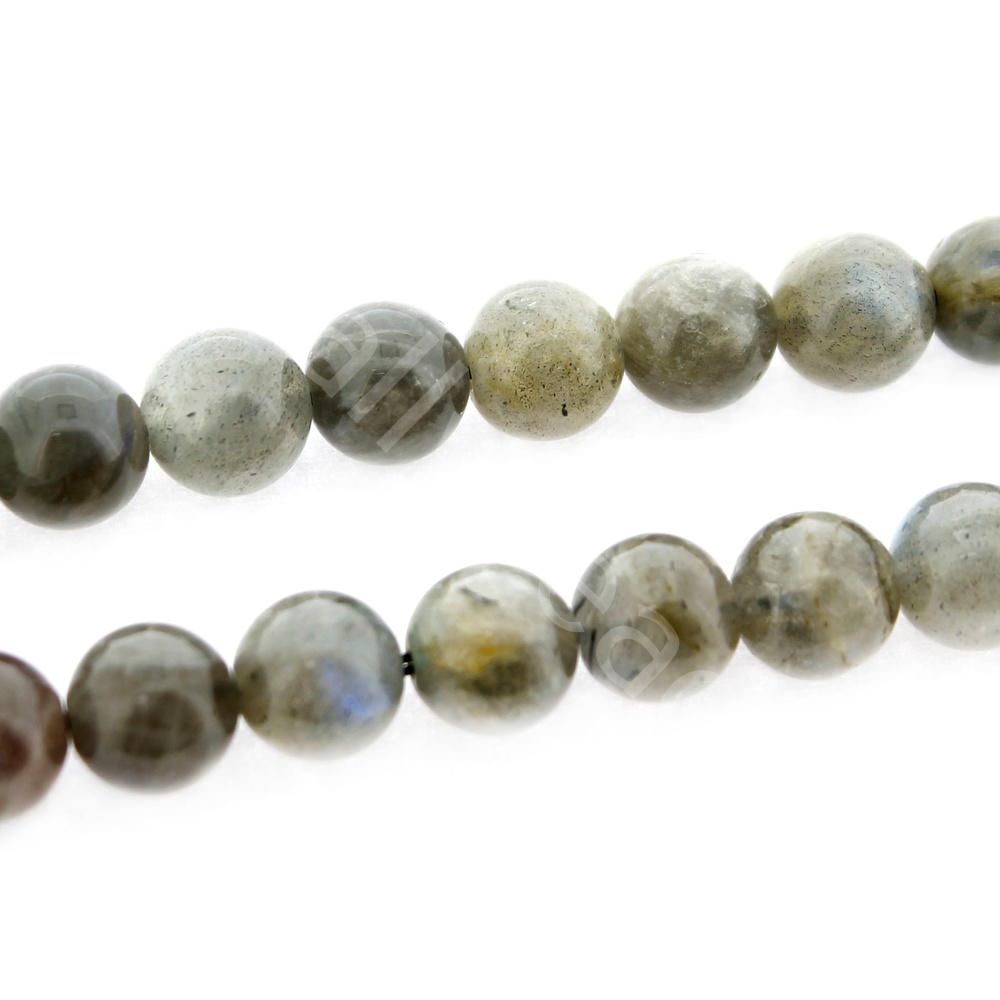 "Gemstone Chips - Labradorite - 32"" String"