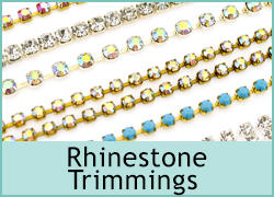 RHINESTONE TRIMMINGS