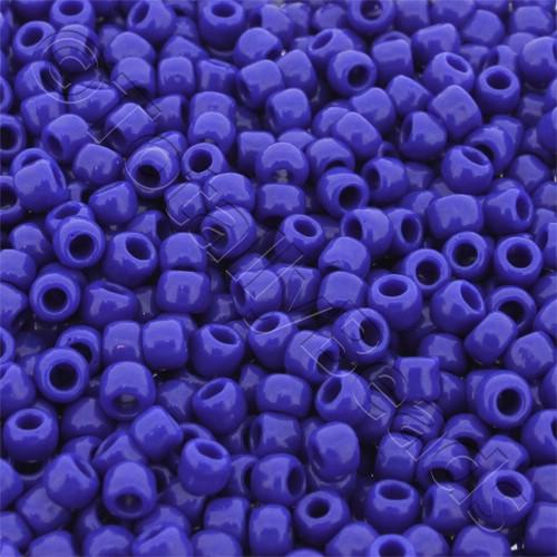 Toho Size 6 Seed Beads 10g - Opaque Navy Blue