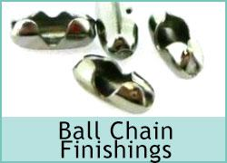 Ball Chain Finishings