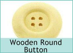 Wooden Round Button
