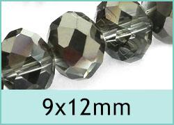 9x12mm Crystal Rondelles