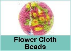 Flower Cloth Beads