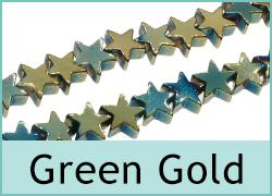 Green Gold Plate