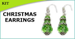 Christmas Tree Earring Kit