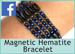 Magnetic Hematite Bracelet - 21st July