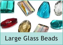 Large Glass Beads