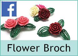 Flower Brooch - 27th September