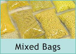 Mixed Seed Bead Bags