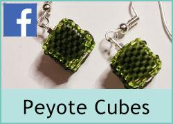 Peyote 3D Beaded Cube - 17th February