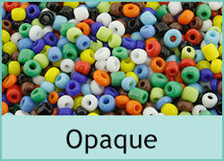 Opaque Seed Beads