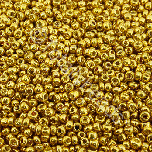 Seed Beads Metallic  Gold - Size 11