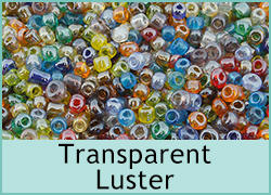 Transparent Luster Seed Beads