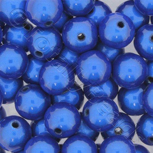 Miracle Beads - 12mm Round Royal Blue