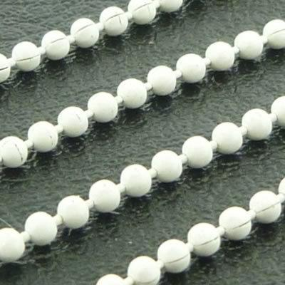 Ball Chain 1.5mm - White - 1m