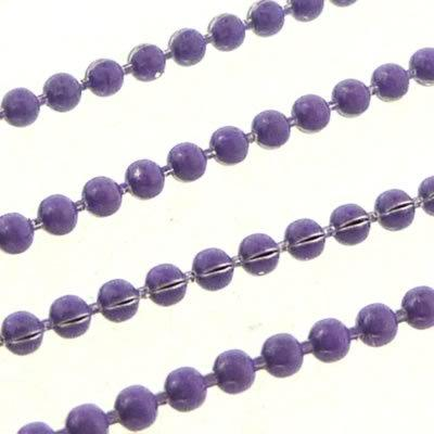 Ball Chain 1.5mm - Purple - 1m