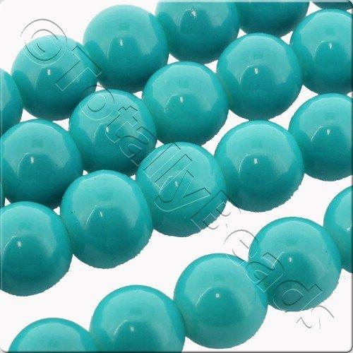 Glass Bead Round 8mm - Turquoise