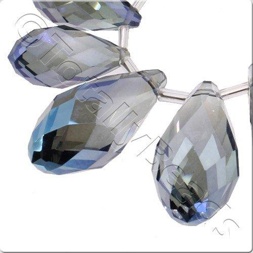 Crystal Drop Set 3 Sizes - Electric Blue