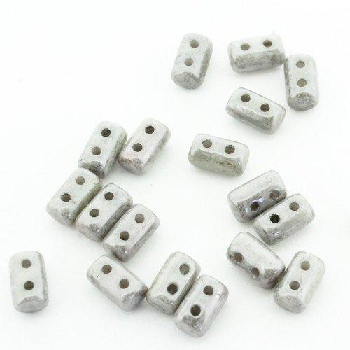 Czech Rulla 3x5mm 10g - Luster White