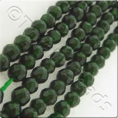 Green Sandstone 3mm Facet Round