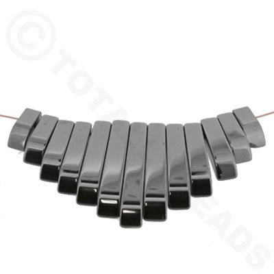 Hematite Egyptian Collar 13pc
